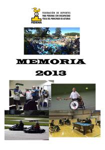 PDF Memoria de Actividades FEDEMA 2013