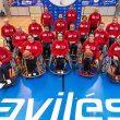 Equipo de baloncesto Garmat de Aviles