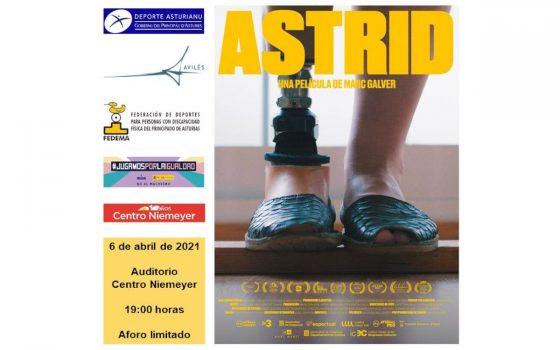 Cartel presentación Astrid