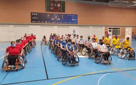 los 4 equpos de la liga de baloncesto en silla de ruedas