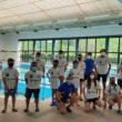 Nadadores y cuerpo técnico participantes en las jornadas